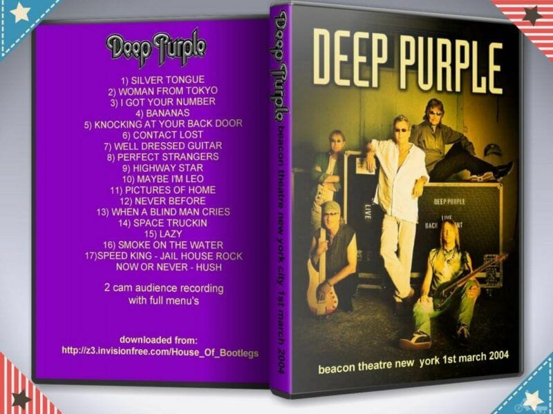 beacon theatre new york deep purple 2004