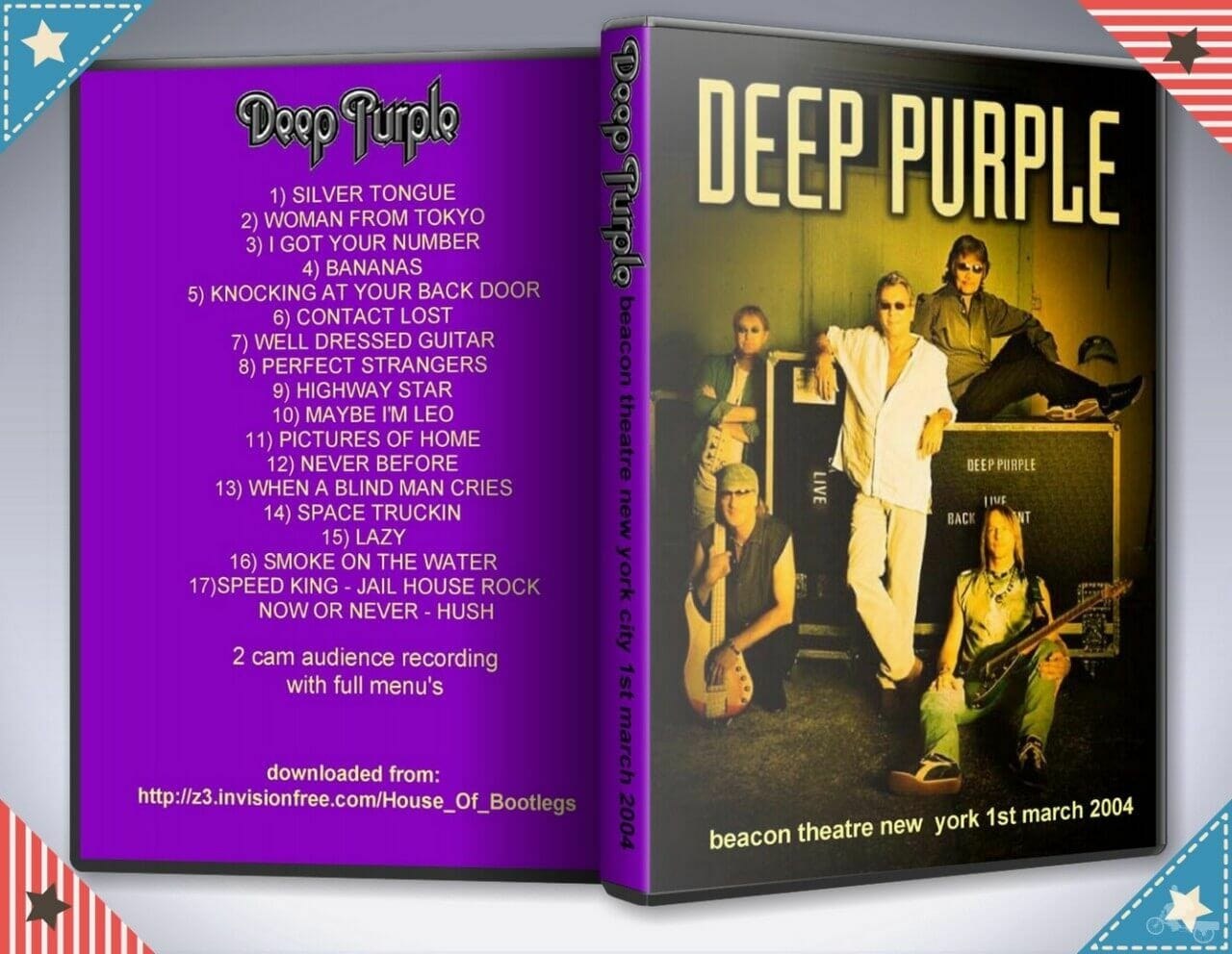 beacon theatre new york deep purple 2004