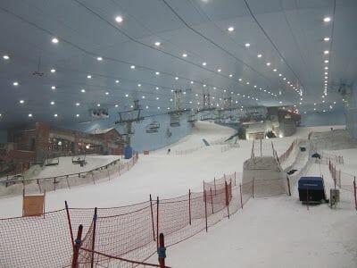 esquiar en dubai