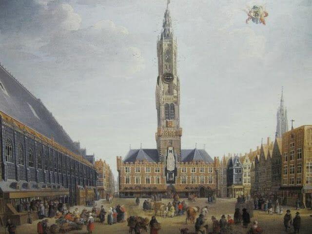 Campanario Halle o también llamado Torre Belfort