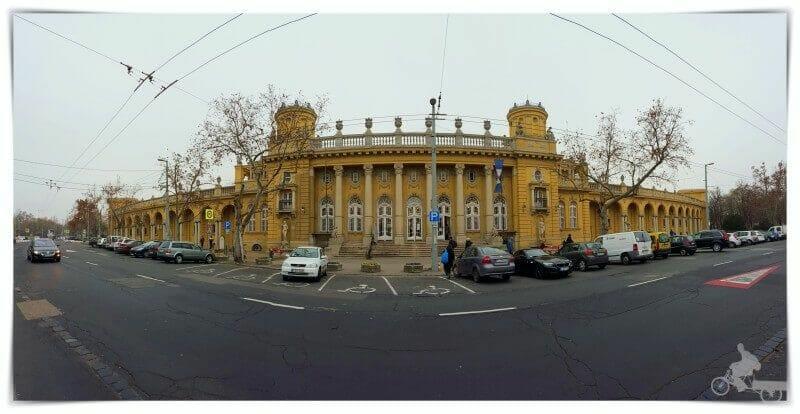 Balneario Szechenyi exterior
