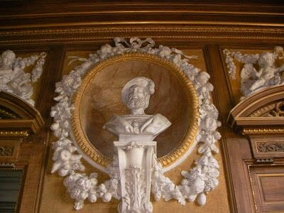 busto Francisco I, estatuas reyes de Francia
