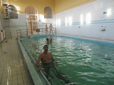 Aguas termales Budapest