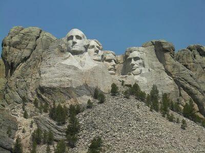 el monte Rushmore presidentes