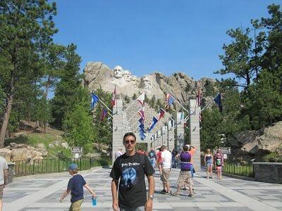 entrada parque nacional de USA
