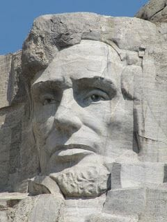 Abraham Lincoln Monte Rushmore