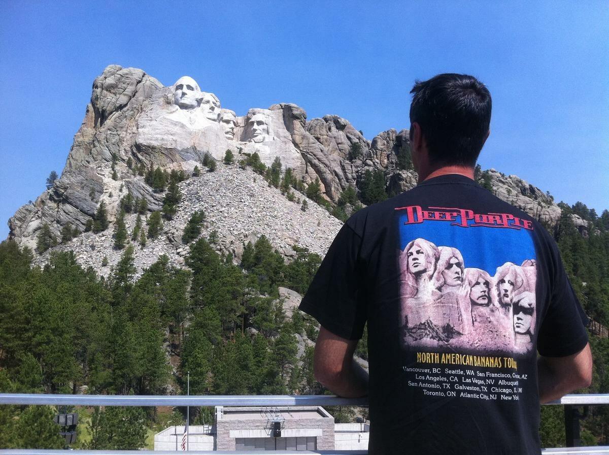 el monte Rushmore presidentes esculpidos en la roca