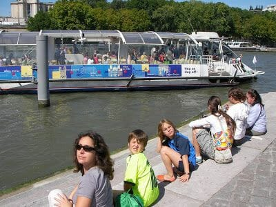paradas del Batobus París