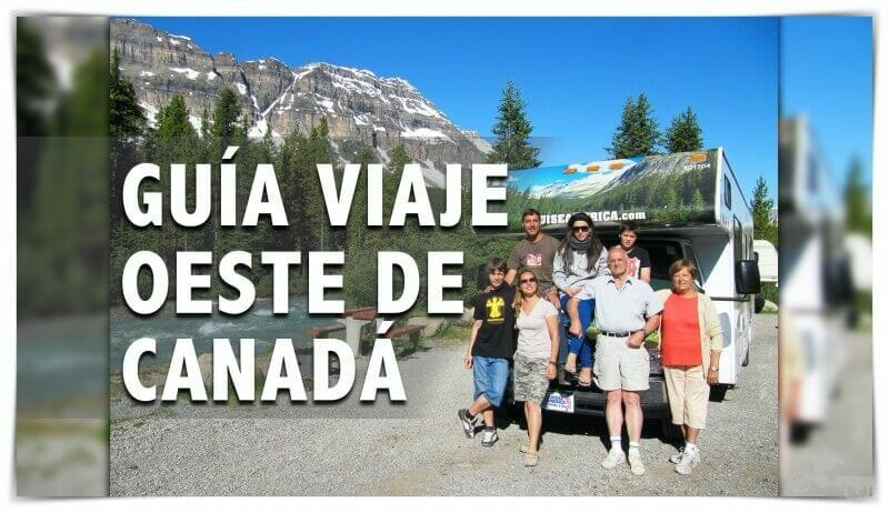 guía de viaje al oeste de Canadá