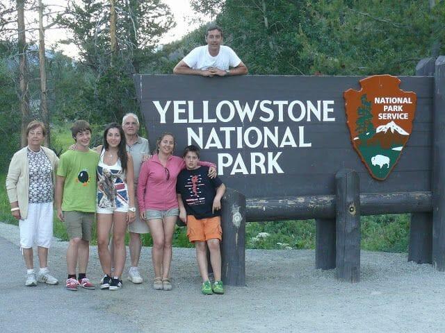 viajeros en Wyoming