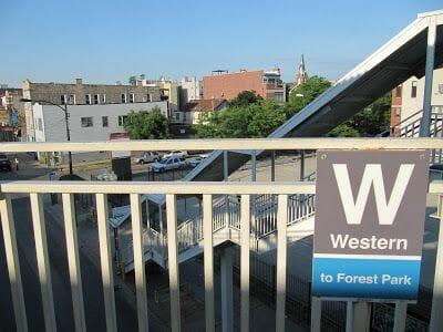 el apartamento en chicago parada metro western