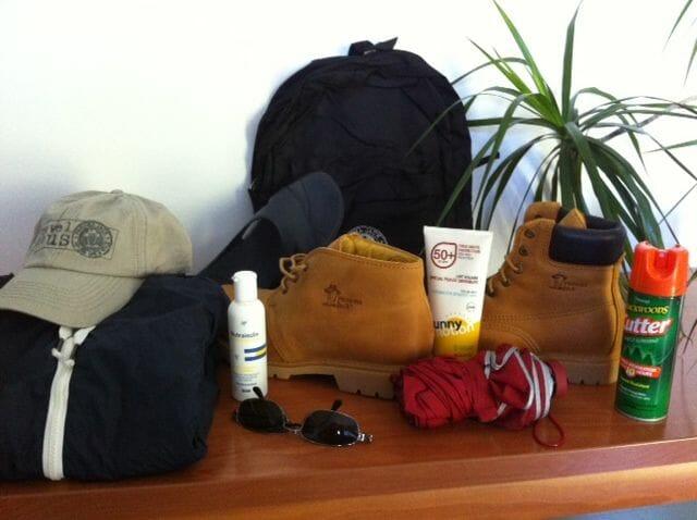 ropa para el viaje al oeste de Canadá