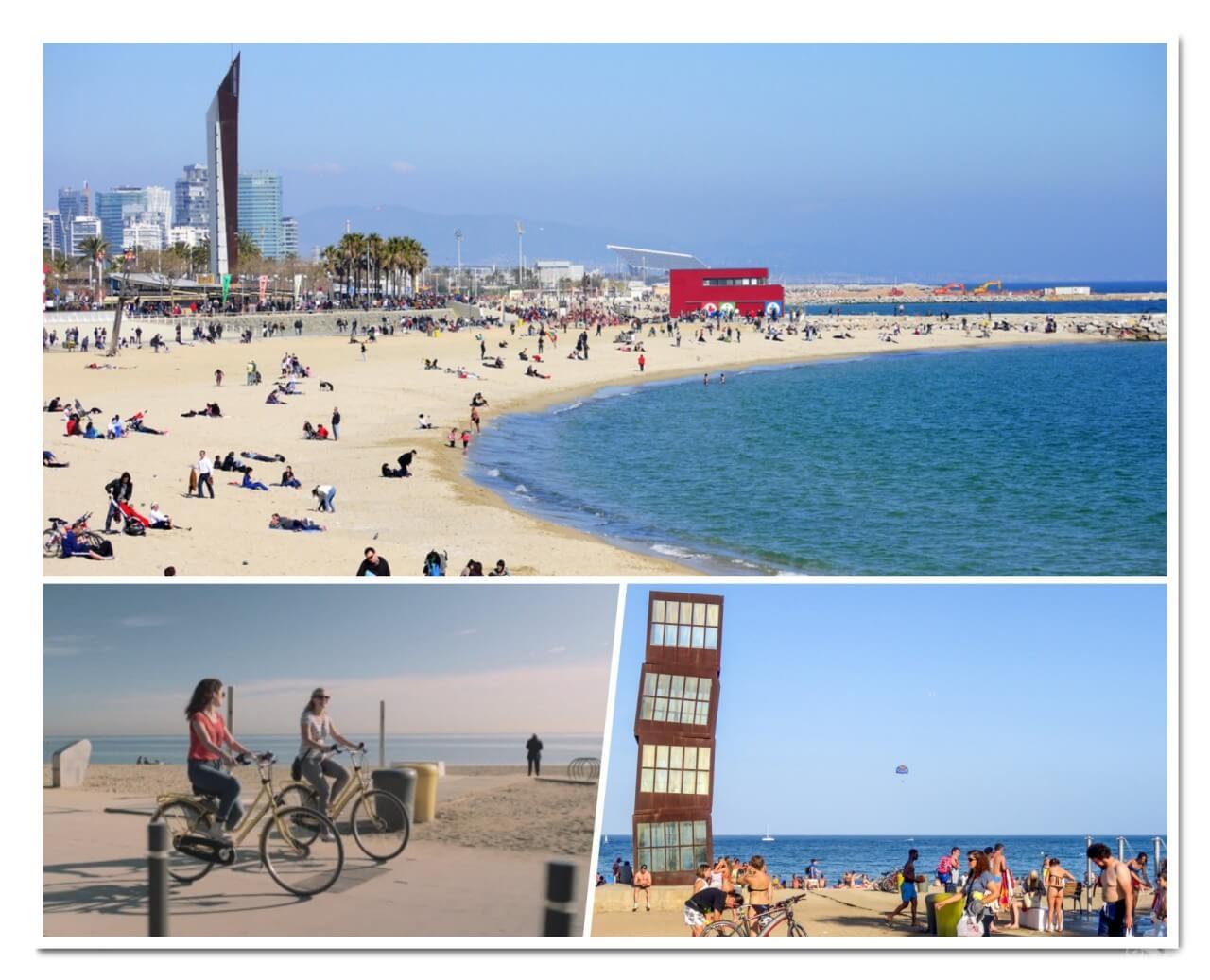 ruta bicicleta playas barcelona