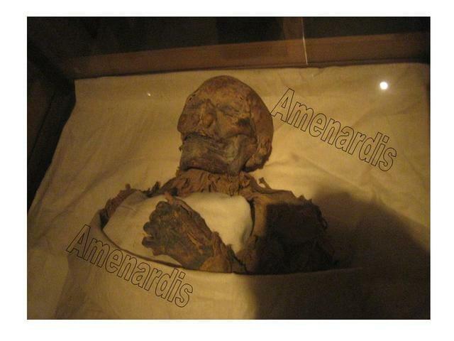 momia de Hatshepsut en el museo egipcio de El Cairo