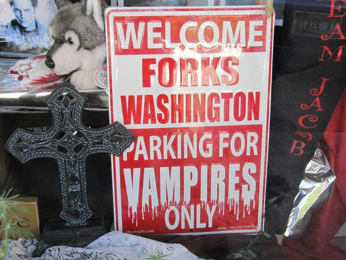 Forks y los vampiros de Crepusculo