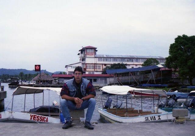 de Guatemala a Belice en barca