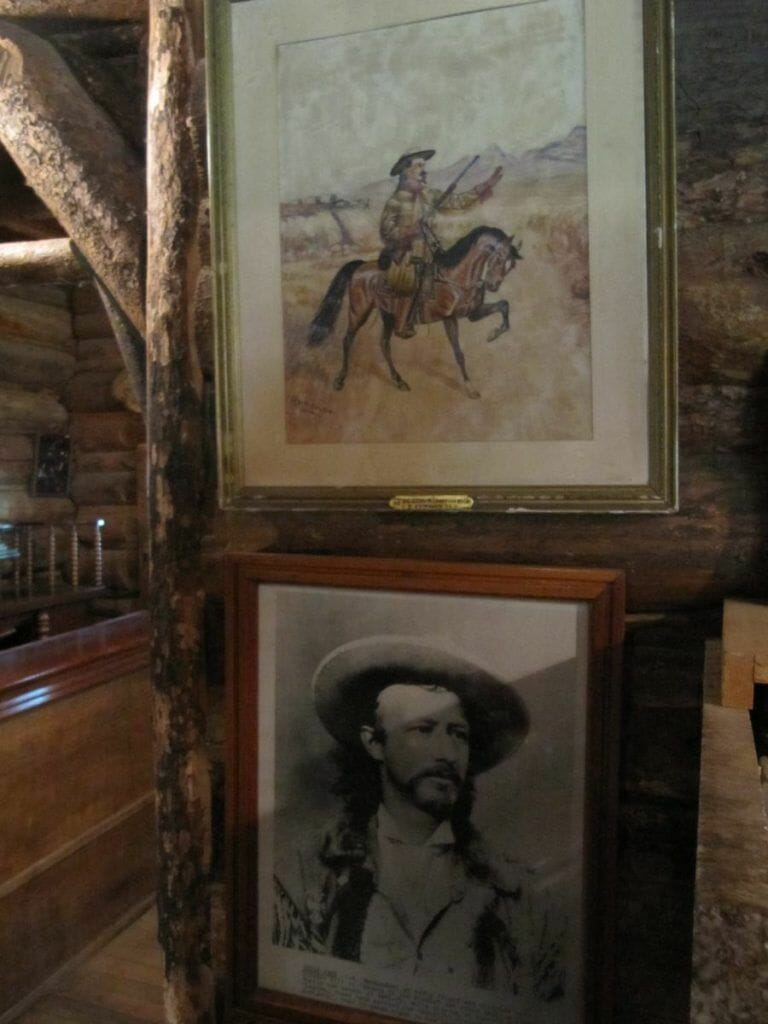 retratos buffalo bill en su casa de Yellowstone