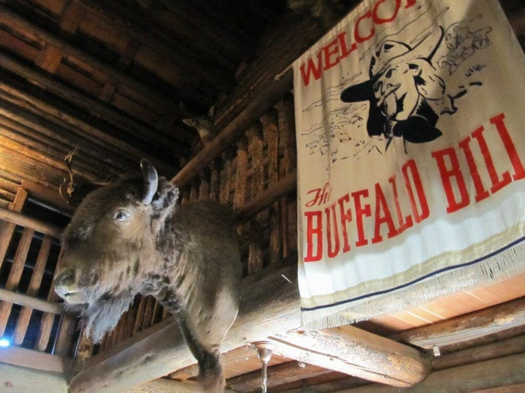 casa buffalo bill en yellowstone