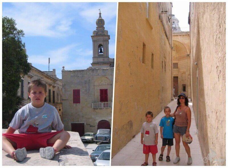 crucero con niños en malta