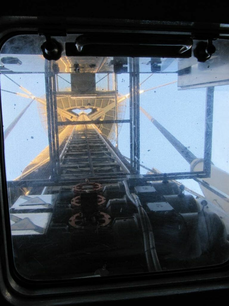 ascensor de la torre de Collserola