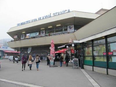 Bratislava Hlavna stanica, estacion central de Bratislava