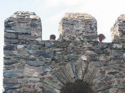 merlones del castillo de Braganza
