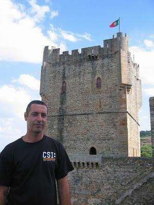 el castillo de Braganza en Portugal