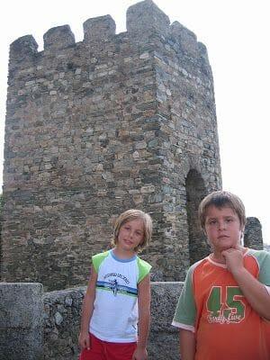 almenas castillo de Braganza