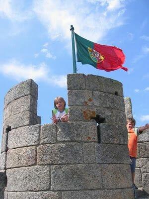 torre castillo de Braganza