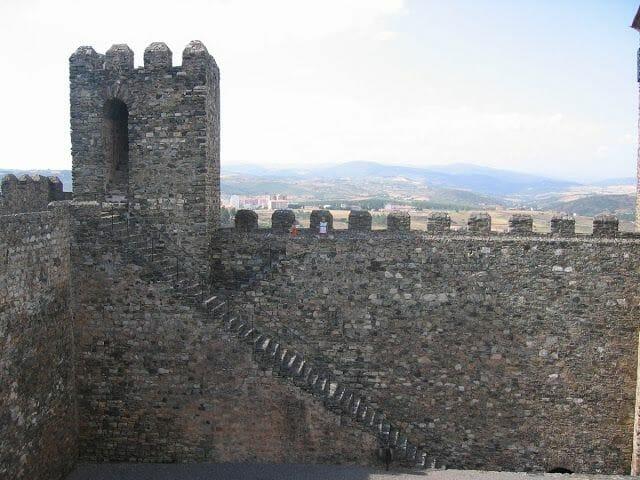 murallas castillo de Braganza