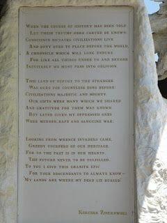 texto caballo Loco Crazy horse memorial