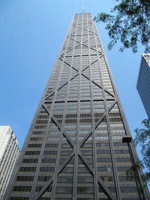 John Hancock tower, rascacielos de Chicago
