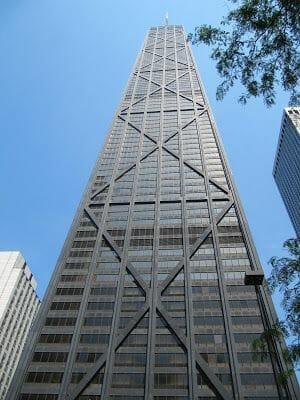 John Hancock tower, rascacielos de Chicago
