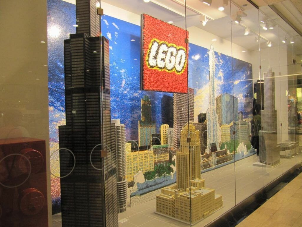 the magnificent mile lego