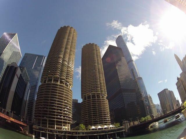 Marina, IBM y el edificio Trump