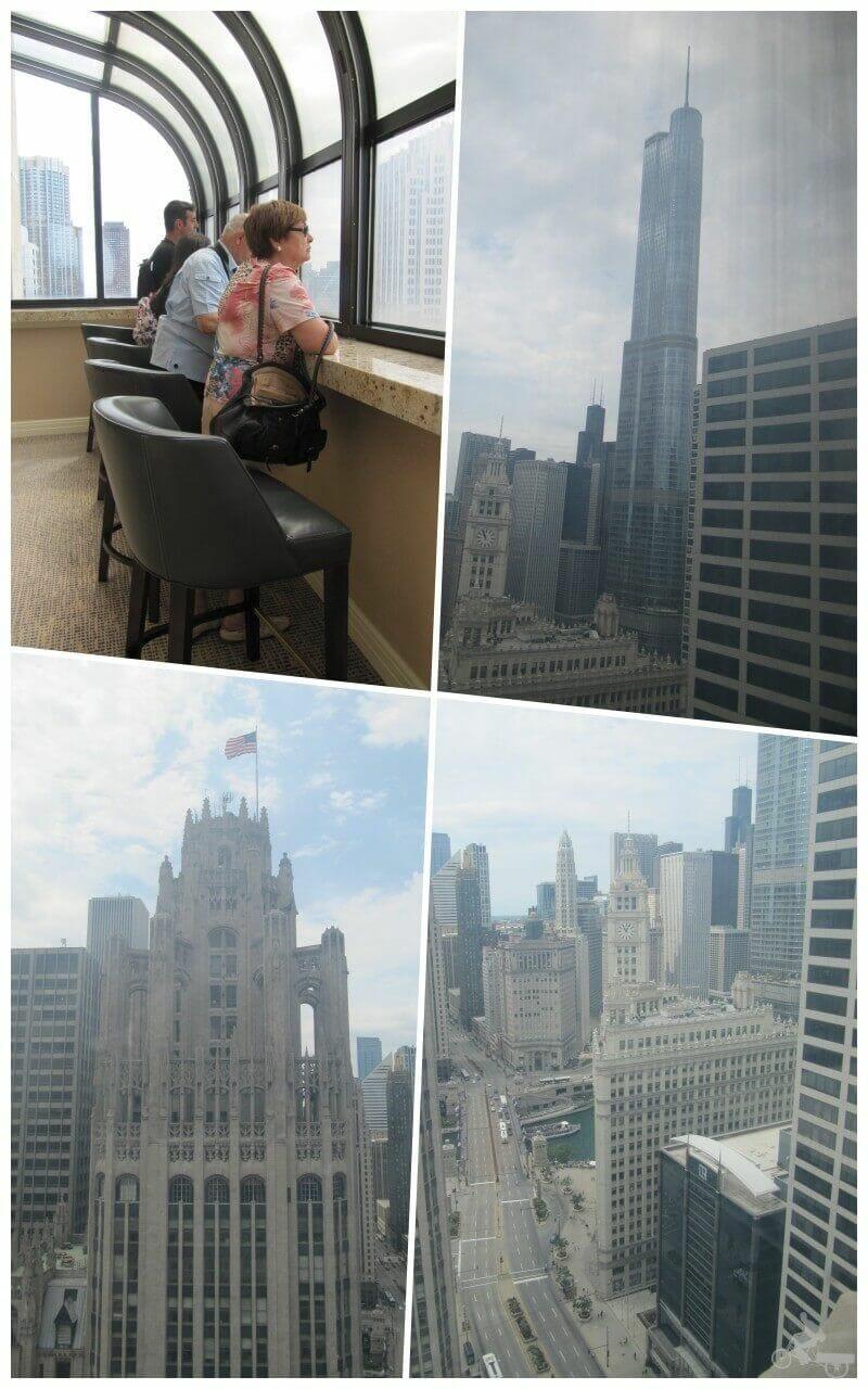 vistas Magnificent mile chicago mirador hotel intercontinental