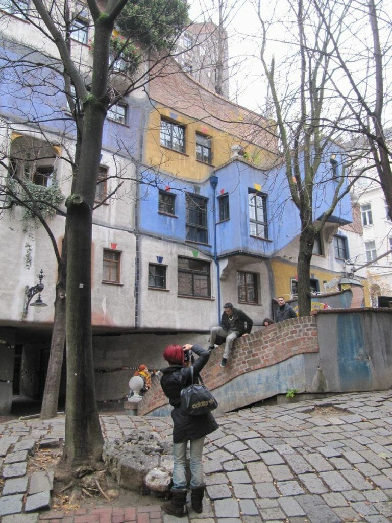 Hundertwasserhaus, casa pintada de Viena