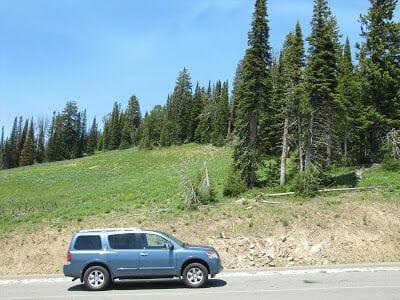 cómo moverse por el parque - consejos para viajar a Yellowstone