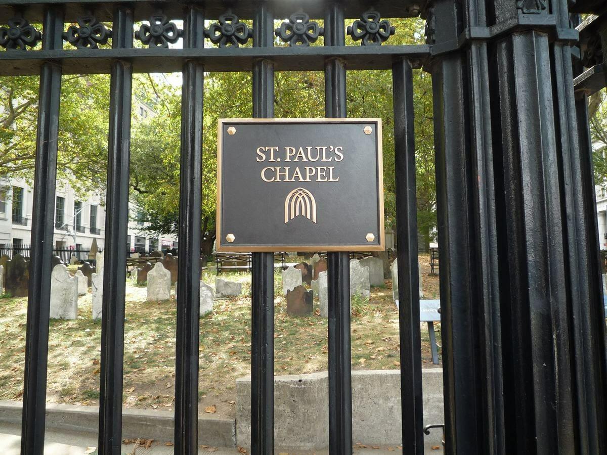 Sant Paul´s chapel, un santuario en Manhattan
