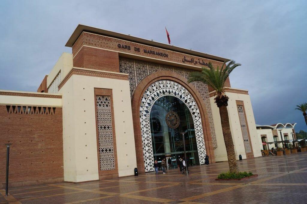 estación de tren de Marrakech