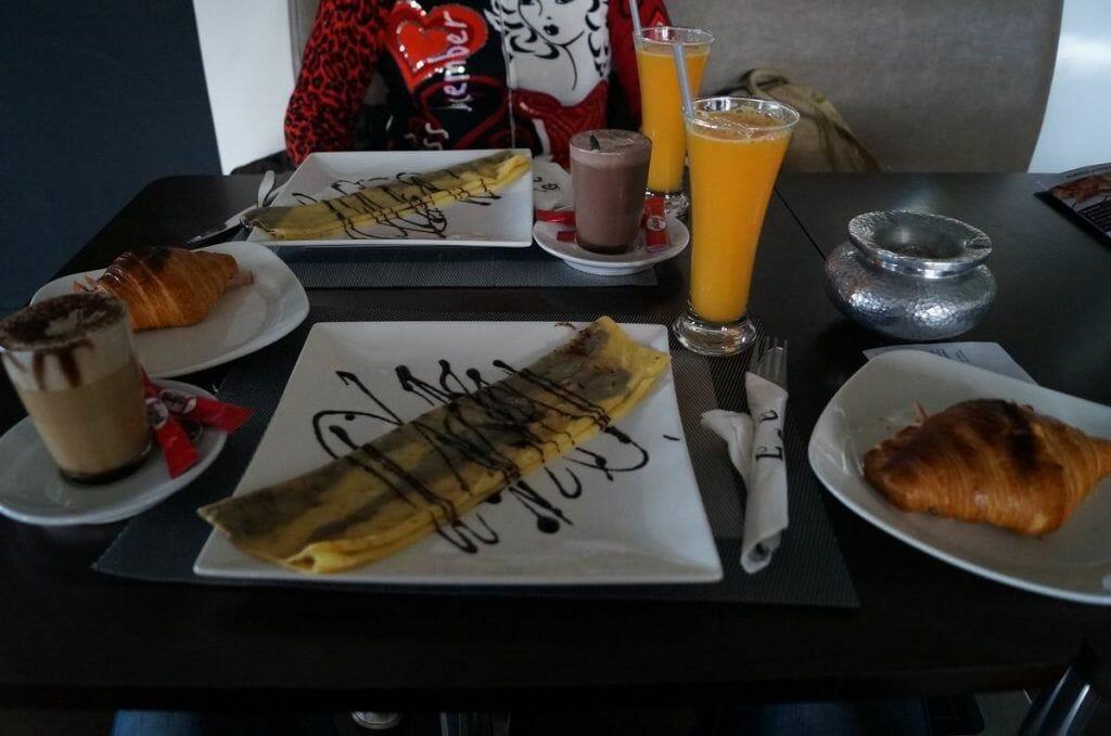 desayuno en marrakech