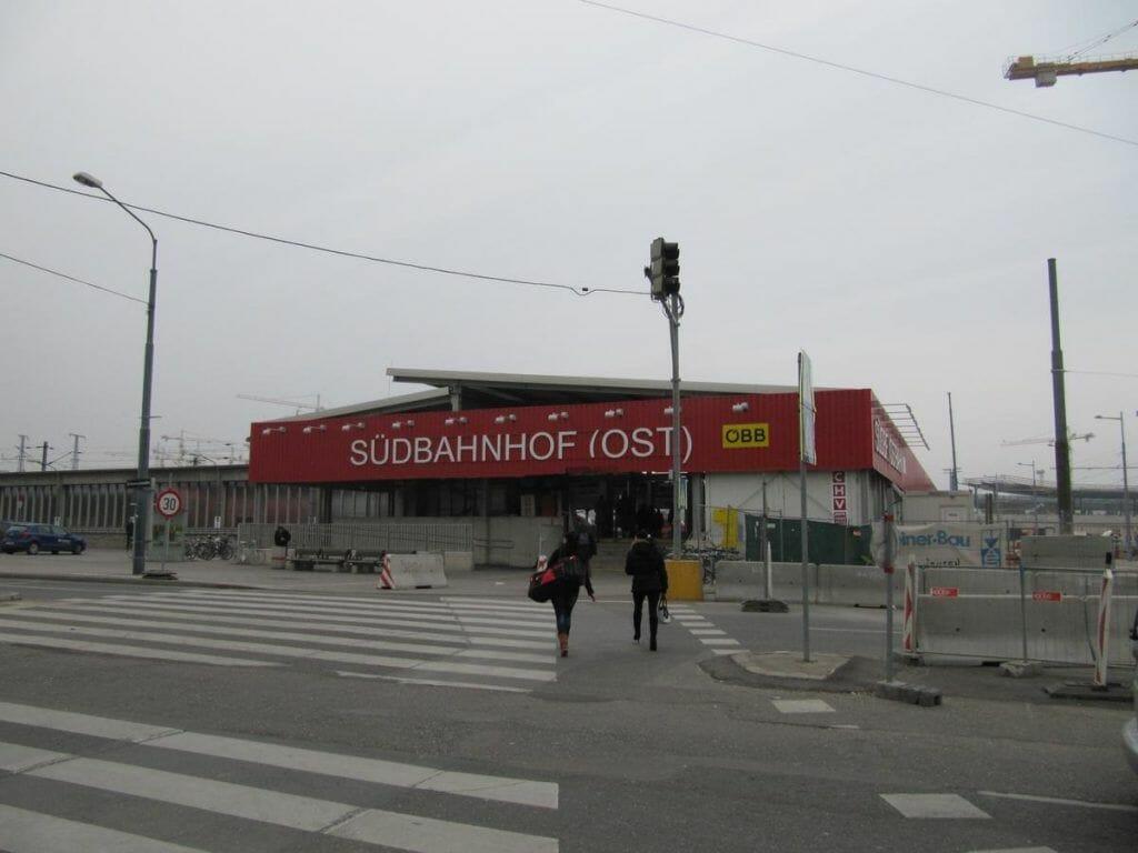 Estación de Viena qué ver en Viena en 3 días