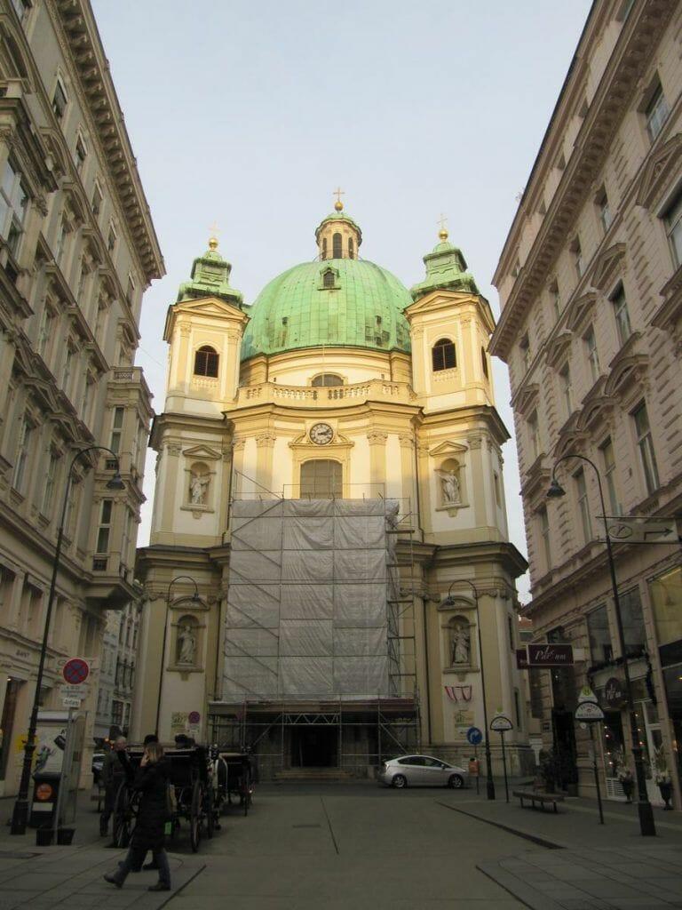 iglesia de San Pedro - qué ver en Viena en 3 días