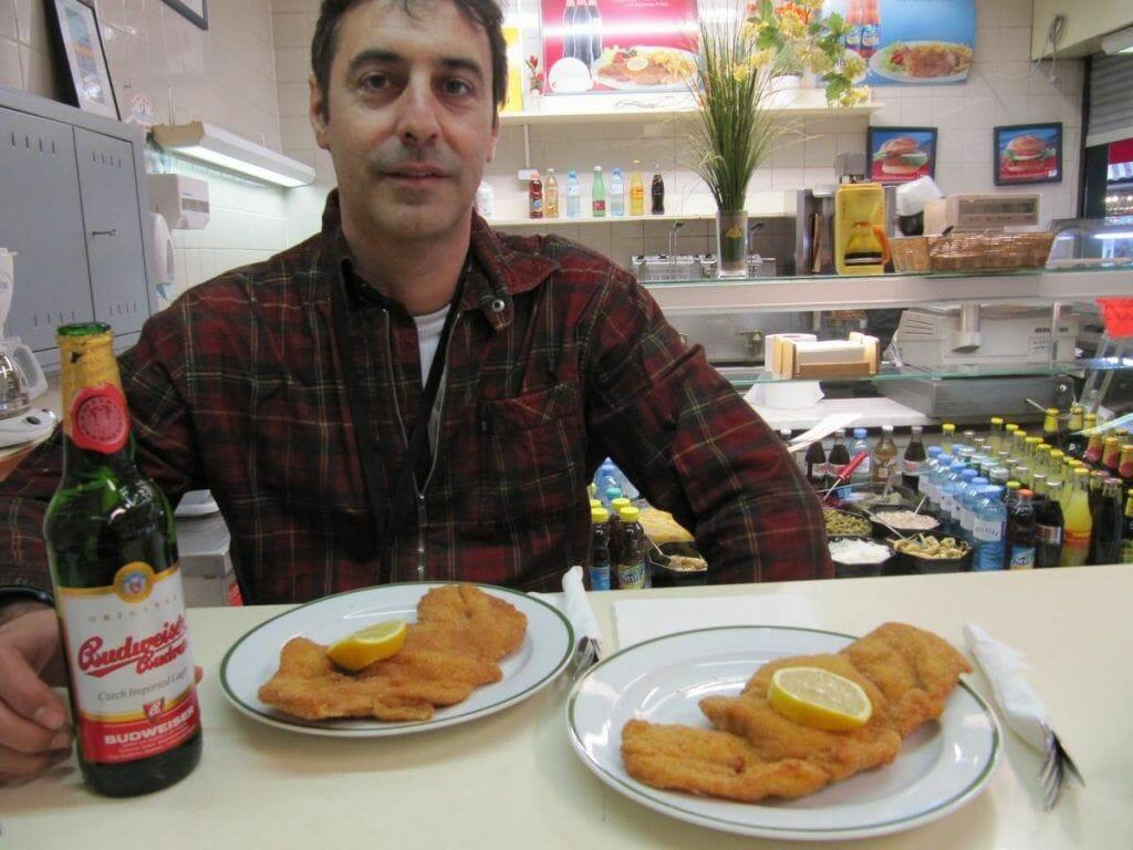 El famoso Schnitzel - qué ver en Viena en 3 días