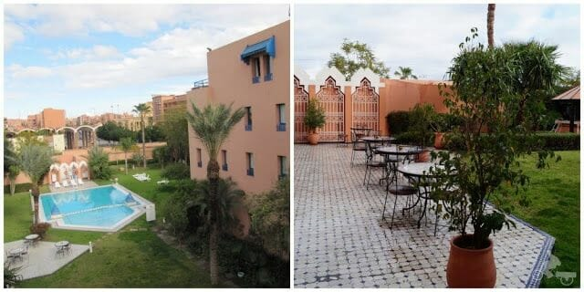 piscina ibis marrakech