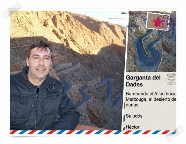 gargantas del río Dadès