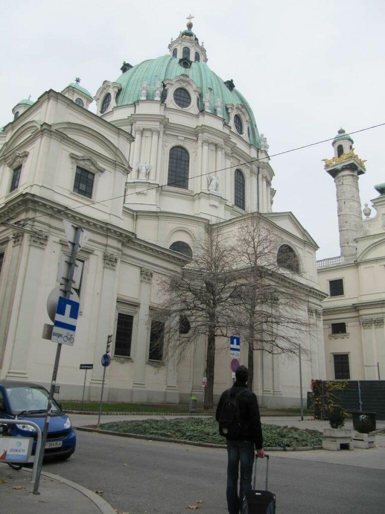San carlos borromeo en Viena