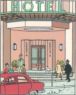 hotel de Tintín