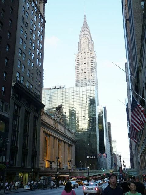Grand Central Station New York unto al Chrysler building