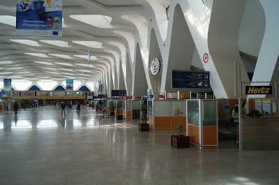 aeropuerto viaje a Marrakech